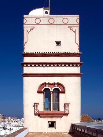 Aussicht auf die Stadt von der Torre Tavira