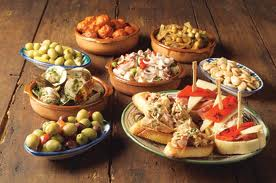 Traditionelle Tapas Andalusiens
