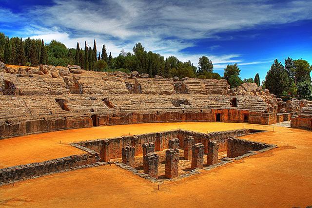 Santiponce: Die Römischen Ruinen von Italica