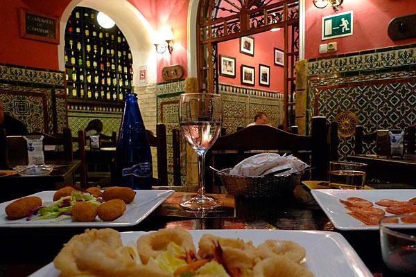 Tapasbar in Sevilla