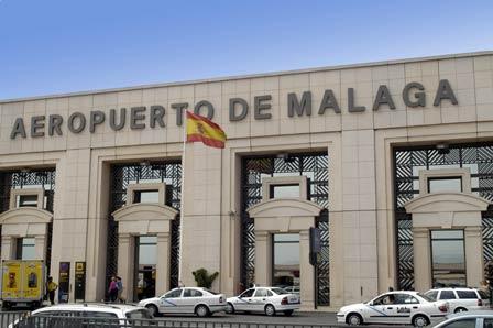Flughafen von Málaga