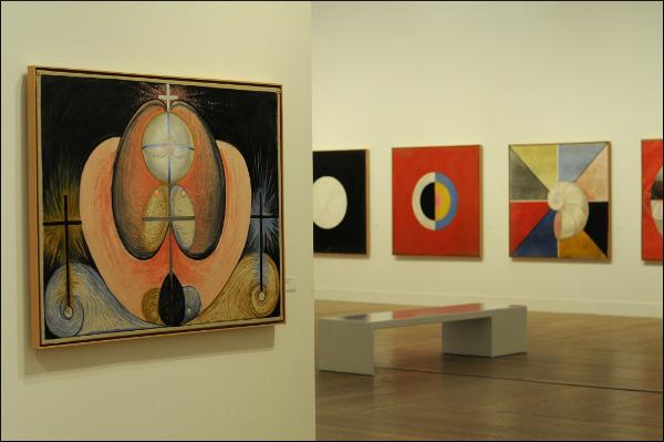 Ausstellung von Hilma af Klingt