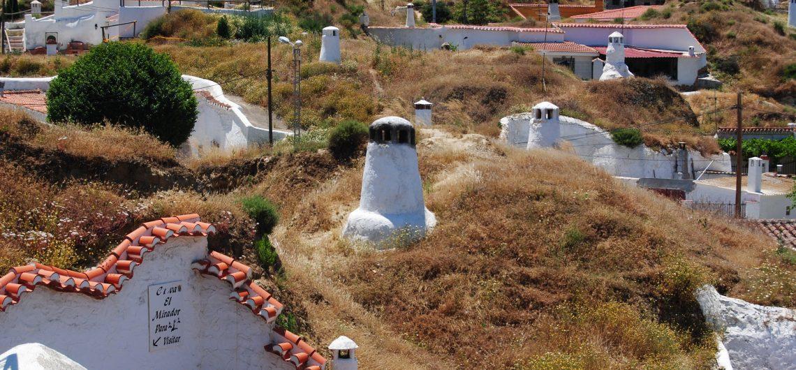 Höhlenwohnungen in Guadiz