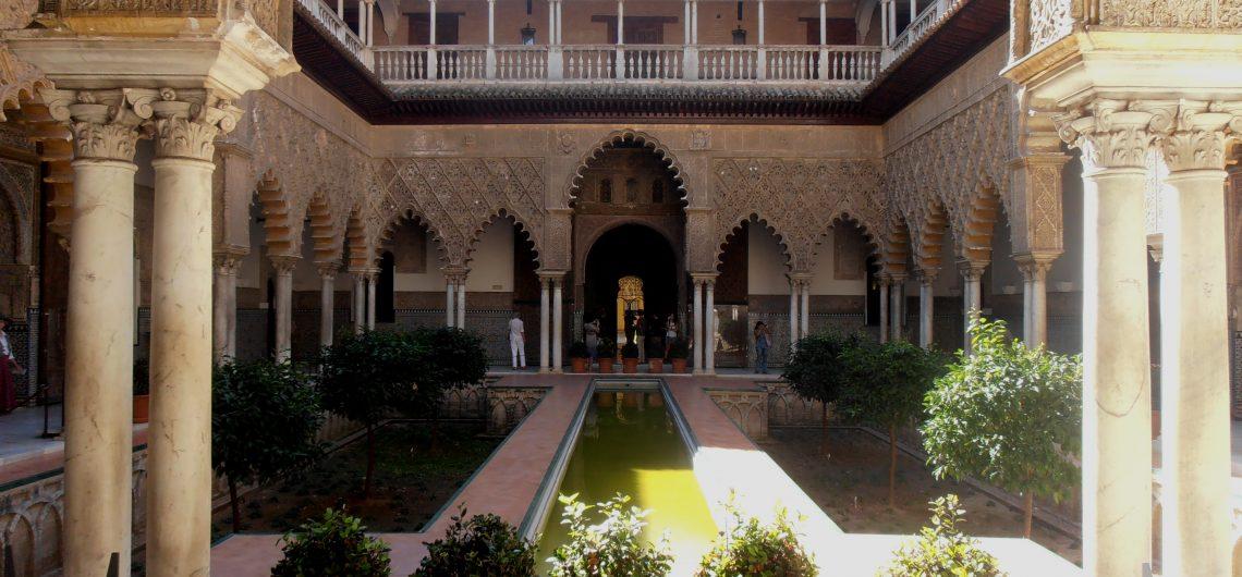 Der Alcazar Palast in Sevilla