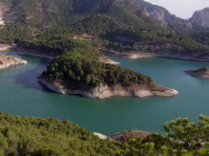 Die Stauseen von Guadalhorce