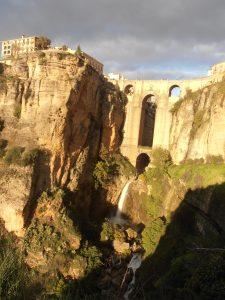 Die beeindruckende Schlucht El Tajo