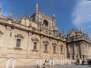 Die Kathedrale von Sevilla