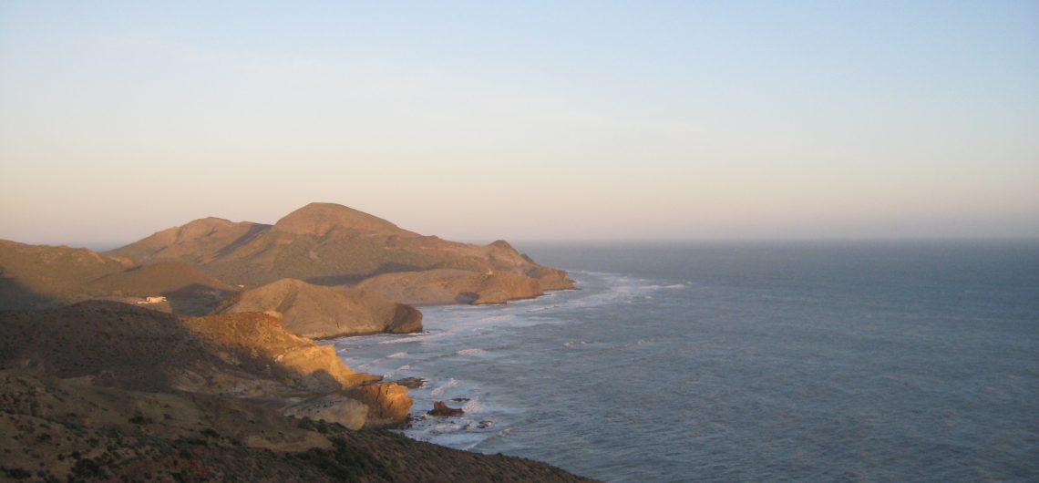 Steilküste an der Costa de Almeria