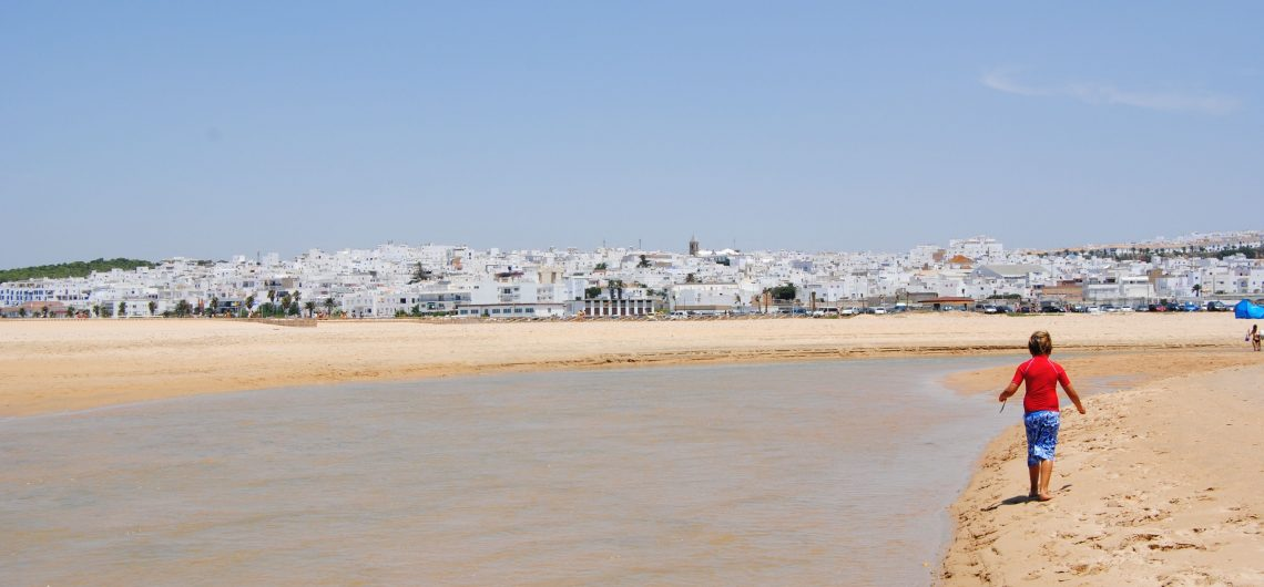 Kilometerlanger Strand an der Costa de la Luz