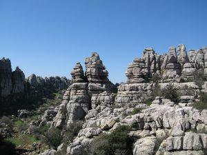 Karstformationen im Naturpark El Torcal