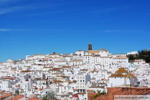 Weisse Dorf Alcala de Los Gazules