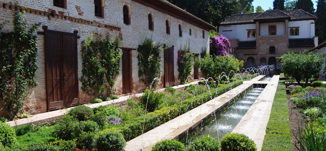 Innenhof der Alhambra