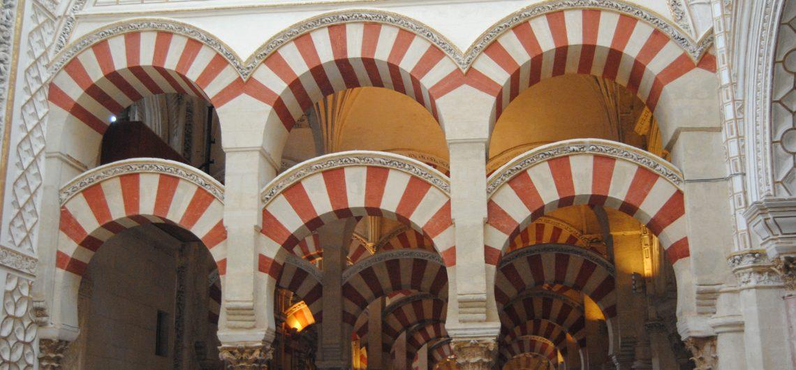 Der Säulenwald in der Moschee