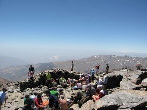 Der höchste Berg Spanien, Mulhacen in Sierra Nevada