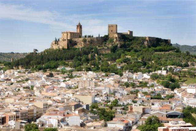 Fortaleza de la Mota in Alcala la Real, Jaen