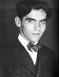 Andalusischer Artist: Federico Garcia Lorca