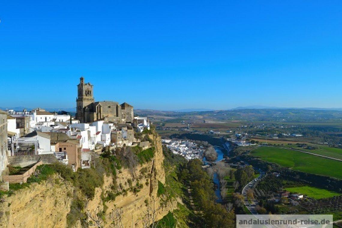 Route der weißen Dörfer von Andalusien