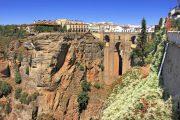 neue Brücke Ronda Andalusien