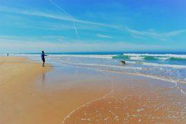 Strand in Conil, Cadiz, Costa de la Luz