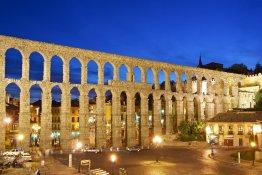 Aqueduct Segovia Anda Reisen