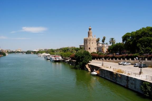 Sevilla Goldturm, Andalusien Rundreise