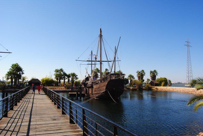 Kolumbus Schiffe Huelva Andalusien Rundreise