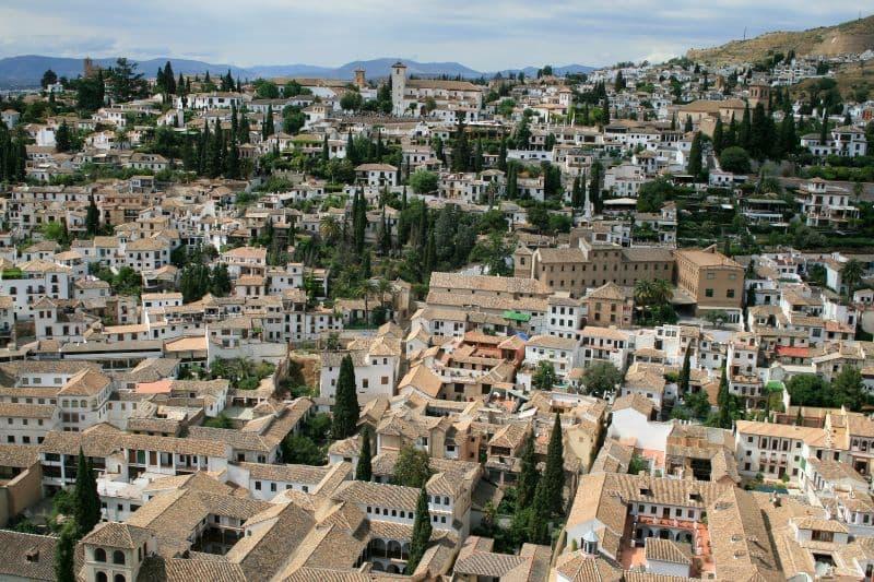 Ablaicin_Viertel_Granada_Andalusien